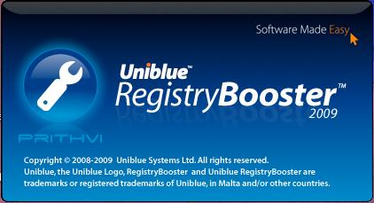 RegistryBooster v2 2009 Download And Info Click Continue